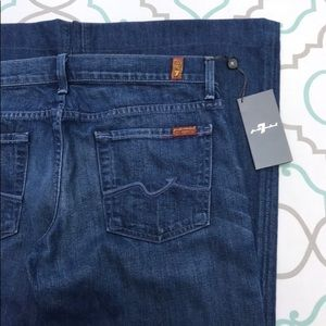 """NWT💙👖7FAM! GINGERS! LOW RISE!👖💙30 9/10 32"""" NEW"""